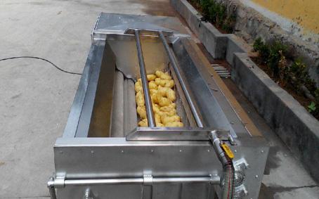 土豆毛刷清洗机