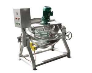 电加热导热油可倾式搅拌夹层锅