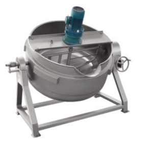 可倾式燃气搅拌炒锅