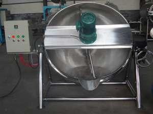 电加热搅拌夹层锅1