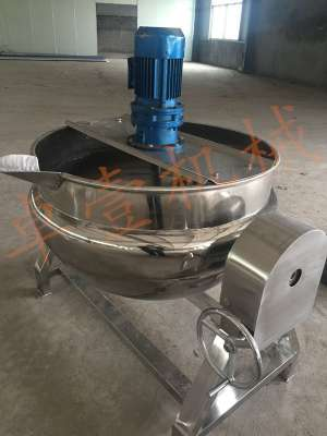 蒸汽夹层锅1